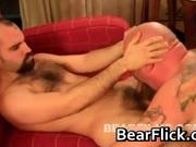 Hairy gay bear blowjob sex by BearFlick
