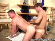 Two gay dudes suck hard dick and get