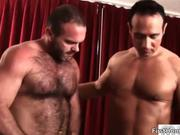 Two sexy gay dudes suck stiff rod