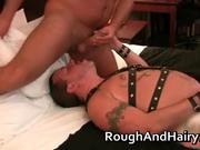 Kinky gay scene with dudes sucking hard
