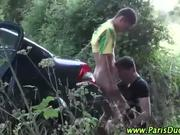 Euro amateur outdoor blowjob gays