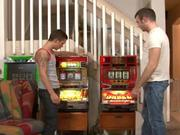 Matthew Singer and Seth Knight play Slots