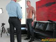 Cute face stud Steven blows hard penis