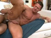 Hot guy loves  hard cock
