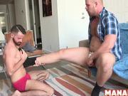 MANALIZED Bottom Stud Barebacked By Bear