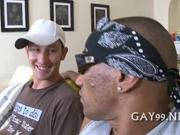 Great interracial gay sex