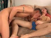 Gay fucking and ass rimming action