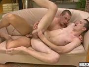 Hunks with big cocks fuck bareback