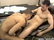 Gay video Poor Tristan Jaxx is stuck