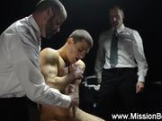 Religious missionary handjob cumshot