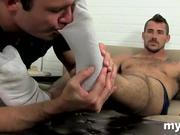 Gay fetish foot porn