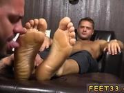 Gay men feet trampling