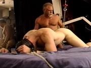 My CBT session with big muscular stud.