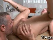Explicit cock sucking