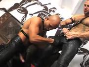 Bondage with Buff and Bald Badasses